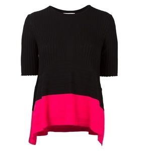 OPENING CEREMONY Linear Delta ribbed Top Blouse S